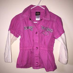 Hot Pink Harley-Davidson Shirt